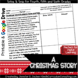 A Christmas Story with Decimals Solve and Snip
