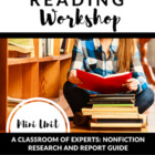 A Classroom of Experts!  Nonfiction Research and Report