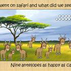 A Counting Safari Adventure 1-10