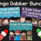 A Dab of Learning BUNDLE {Kindergarten Literacy & Math Bin