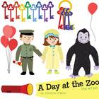 A Day at the Zoo / Zoo Animals Clip Art Set