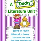 A Ducky Literature Unit~ Jackie Urbanovic