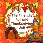 A Fall And Thanksgiving Unit including Johnny Appleseed