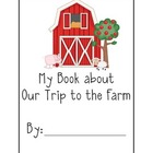 A Field Trip to the Farm Response Book