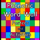 A French Phonetic Word Wall - Frequent Words Colour Coded