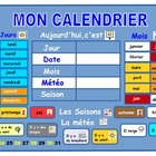 A French calendar .