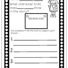 A General Form to Assess Character Traits