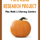 A Great Pumpkin:  A Math, Science, and Writing Common Core