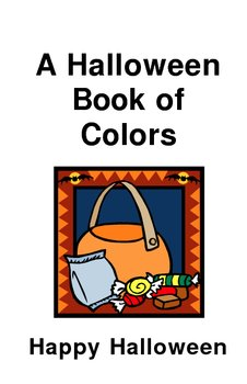 A Halloween Book of Colors