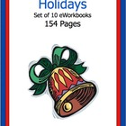 A Holidays Set of 10 eWorkbooks