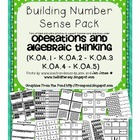 A Huge Number Sense Bundle: Common Core Operations and Alg