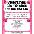 A Huge Valentines Day Math Number Sense Bundle: Common Core