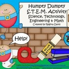 A+ Humpty Dumpty STEM Activity: Science, Technology, Engin