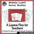 A Lesson Plan for Teachers, New or Old (Experienced, that is!)