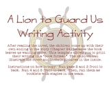 A Lion to Guard Us Writing Activity