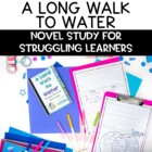 A Long Walk to Water Novel Study: Lower Level
