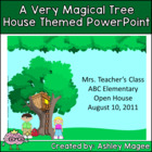 A Magical Tree House PowerPoint Template