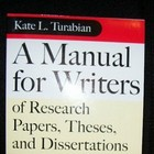 A Manual for Writers of Research Papers and Theses: Chicago Style