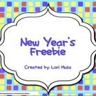 A Math FREEBIE for New Year&#039;s