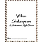 A Midsummer Night's Dream Play Study