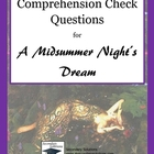 A Midsummer Night's Dream Study Questions - Entire Play