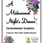 """A Midsummer Night's Dream"", by Shakespeare, Comp. Questions"