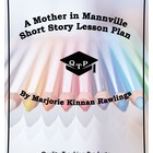 A Mother in Mannville Lesson Plan Worksheets / Key / Powerpoints