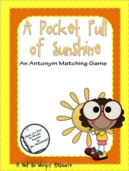 A Not So Wimpy File Folder Game: A Pocket Full of Sunshine