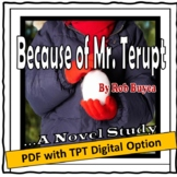 A Novel Study for Because of Mr. Terupt, by Rob Buyea