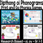A Phonics Game for oi and oy Sounds