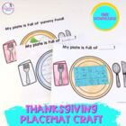 A Plate Full of Thanksgiving Craftivity