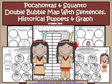 A+ Pocahontas And Squanto Double Bubble With Sentences,Pup