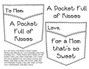 A Pocket Full of Kisses: A Mother's Day Craft Project