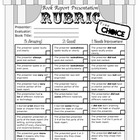 A Presentation Rubric