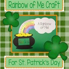 A Rainbow of Me St. Patrick's Day Craft