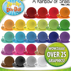 A Rainbow of Snails Clipart — Over 25 Graphics!