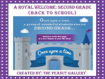 A Royal Welcome: Grade 2 (The First Day of School)