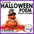 A SIMPLE HALLOWEEN POEM
