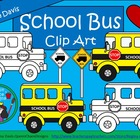 A+ School Bus Commercial Clip Art