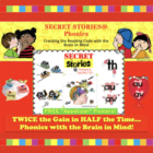 A &quot;Secret Stories&quot; Sampling!  (phonics chunks / spelling chunks)