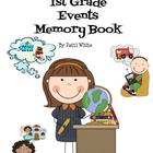 A Series of 1st Grade Events Memory Book
