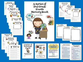 A Series of 2nd Grade Events Memory Book
