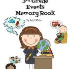 A Series of 3rd Grade Events Memory Book