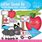 A Set - Set of Clipart for Short Beginning Sound a