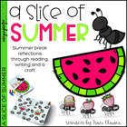A Slice of Summer - Beginning of the Year Writing & Word Work