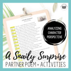 """A Snaily Surprise!"" {Partner Perspective Poem}"