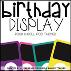 A Star is Born-  Birthday for Rock n Roll IPod Theme (Editable)