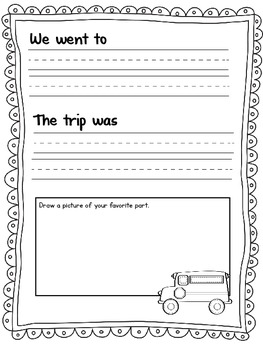 A Student's Field Trip Journal