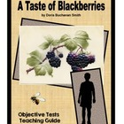A Taste of Blackberries  Objective Tests Pack