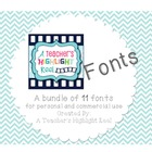 A Teacher's Highlight Reel Fonts